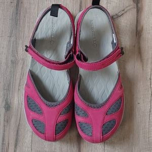 Merrell cranberry shoes 7